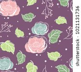color seamless pattern with... | Shutterstock .eps vector #1021131736