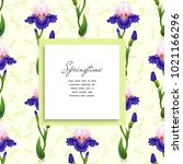 square frame for text on a... | Shutterstock .eps vector #1021166296