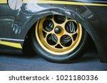 close up magnesium alloy wheel. | Shutterstock . vector #1021180336