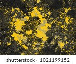 dramatic yellow grey black... | Shutterstock . vector #1021199152