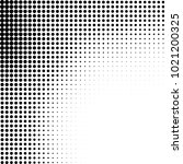 halftone black and white... | Shutterstock .eps vector #1021200325