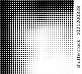 halftone black and white... | Shutterstock .eps vector #1021200328