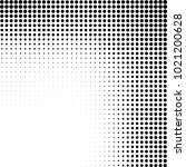 halftone black and white... | Shutterstock .eps vector #1021200628