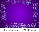 cleaning foam on gradient... | Shutterstock .eps vector #1021207606