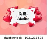 2018 valentine's day background ...   Shutterstock .eps vector #1021219528