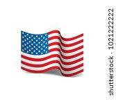 usa flag isolated   Shutterstock .eps vector #1021222222