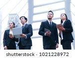asian business people team...   Shutterstock . vector #1021228972