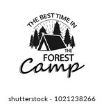 forest logo  icon. logo about... | Shutterstock .eps vector #1021238266