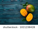 Mango. Tropical Fruits. On A...