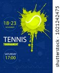 sports design for tennis.... | Shutterstock .eps vector #1021242475
