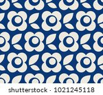 seamless retro pattern with... | Shutterstock .eps vector #1021245118