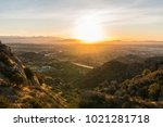 early morning view of the san... | Shutterstock . vector #1021281718