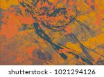 abstract painting. ink handmade ... | Shutterstock . vector #1021294126