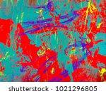 abstract painting. ink handmade ... | Shutterstock . vector #1021296805