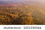 aerial drone view of a mountain ...   Shutterstock . vector #1021330366