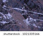 abstract painting. ink handmade ... | Shutterstock . vector #1021335166