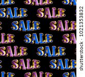 seamless sale pattern. ideal...   Shutterstock . vector #1021353832