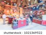 blurred people pray inside hong ...   Shutterstock . vector #1021369522