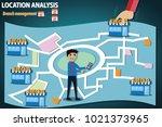 business concept. businessman... | Shutterstock .eps vector #1021373965