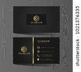 luxury and elegant black gold... | Shutterstock .eps vector #1021376335