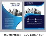design blue cover. background... | Shutterstock .eps vector #1021381462