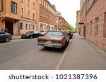 st.petersburg  russia   27 may... | Shutterstock . vector #1021387396