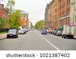 st.petersburg  russia   27 may... | Shutterstock . vector #1021387402