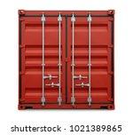 Security Door Of A Container