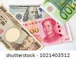 key reserve currencies   us... | Shutterstock . vector #1021403512