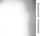 halftone black and white... | Shutterstock .eps vector #1021434418