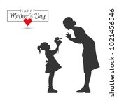 8 march womens day | Shutterstock .eps vector #1021456546