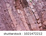 Small photo of Red metamorphosed slates of the Devonian period