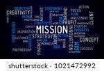 mission   typographic concept