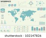 vector set elements of... | Shutterstock .eps vector #102147826
