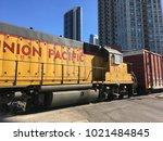 chicago  illinois   january 26  ... | Shutterstock . vector #1021484845