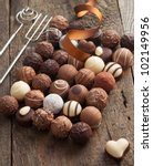 luxury handmade chocolate... | Shutterstock . vector #102149956