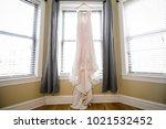 wedding dress. wedding dress on ...   Shutterstock . vector #1021532452