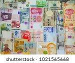 international currency global...   Shutterstock . vector #1021565668