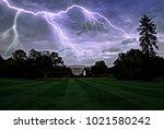Lightning Over The White House...