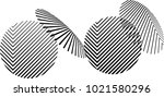 vector hipster circle... | Shutterstock .eps vector #1021580296