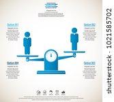 business management  strategy... | Shutterstock .eps vector #1021585702