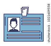 id document card icon | Shutterstock .eps vector #1021609558
