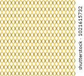 gold grid line pattern vector... | Shutterstock .eps vector #1021615732