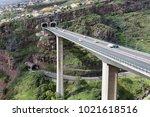 funchal  portugal   february 24 ... | Shutterstock . vector #1021618516