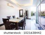 luxury interior design in...   Shutterstock . vector #1021638442