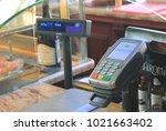 st. petersburg  russia  ... | Shutterstock . vector #1021663402