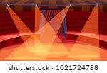 empty circus arena | Shutterstock .eps vector #1021724788