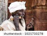ethiopia lalibela circa ...   Shutterstock . vector #1021733278