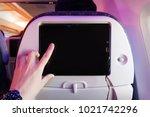 Aircraft Monitor The Passenger...