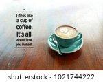 inspirational positive quote ... | Shutterstock . vector #1021744222
